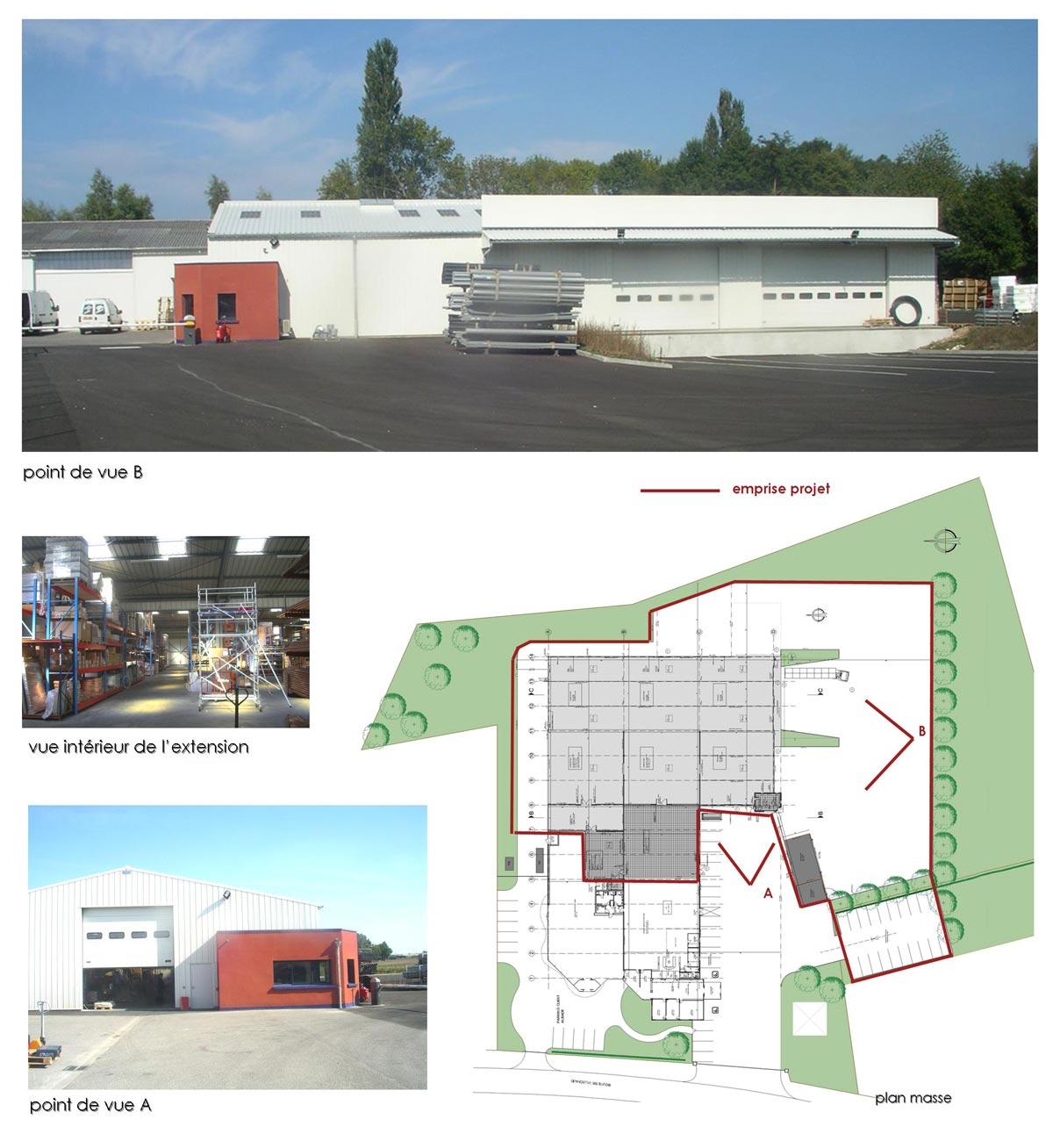 Extension du comptoir des fers et quincaillerie à Cosne sur Loire 58