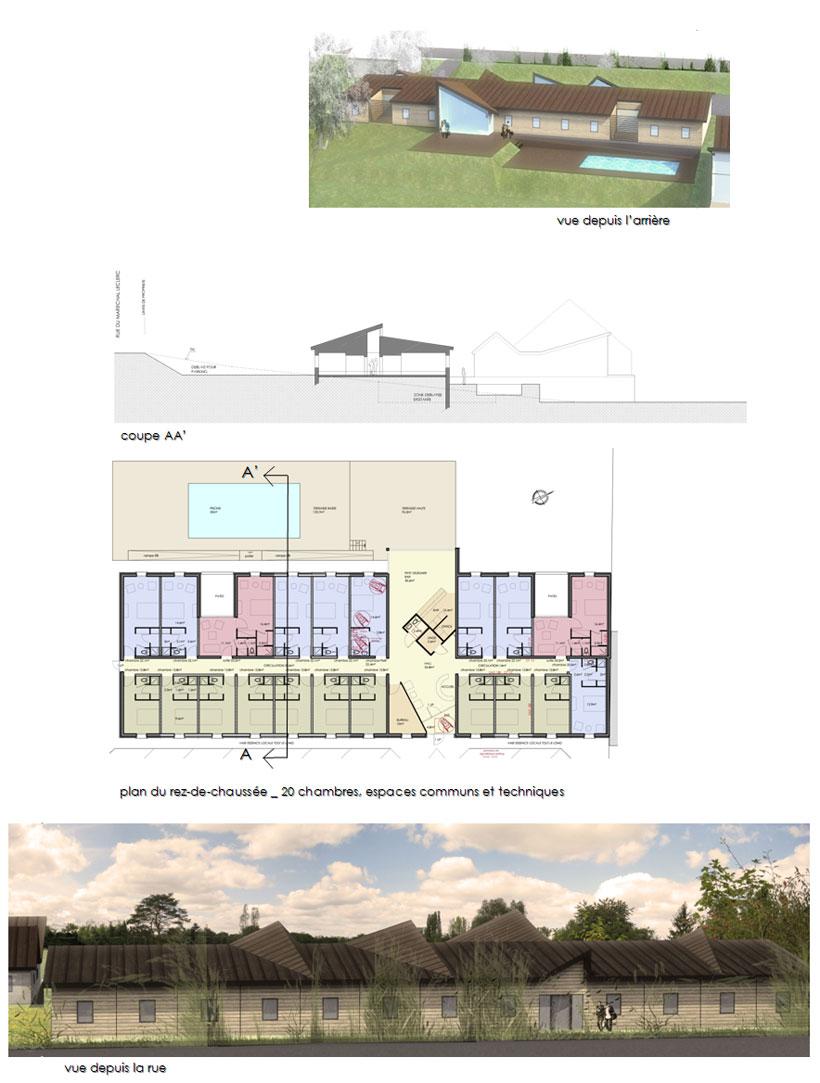 Création d'un hôtel à Cosne sur Loire (58)