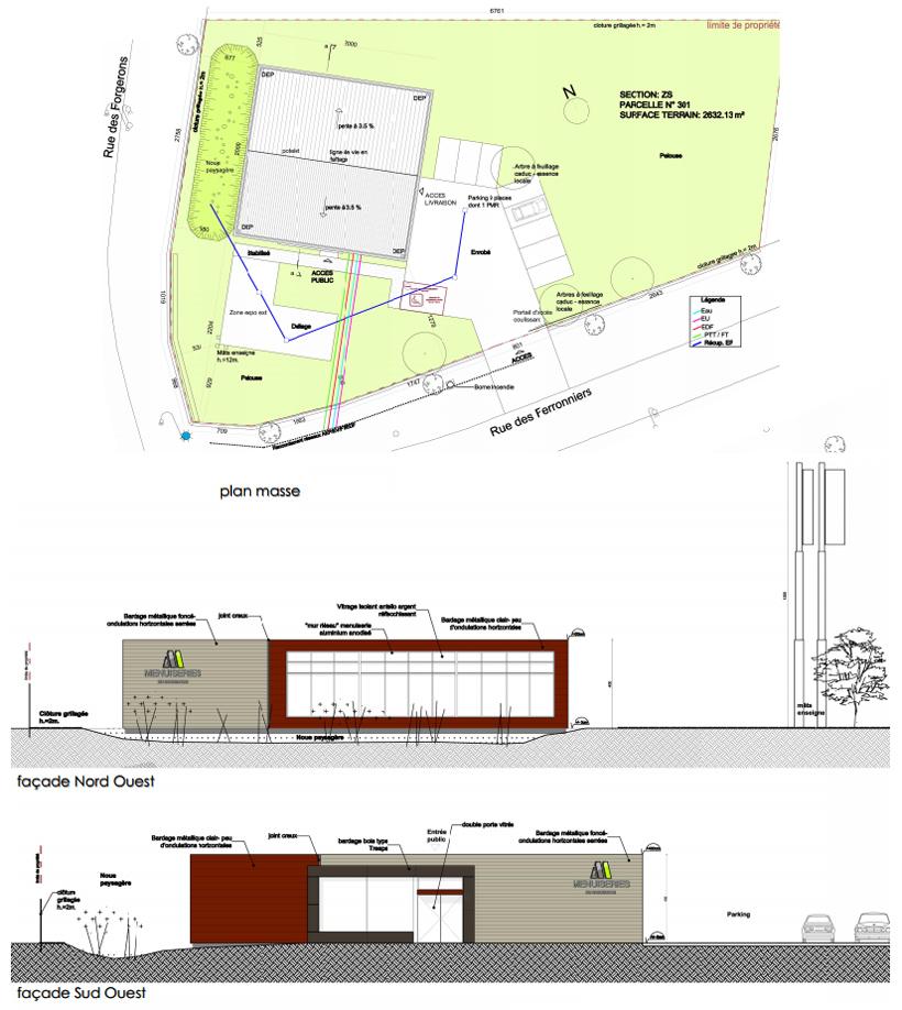 Construction d'un bâtiment industriel à Cosne sur Loire 58