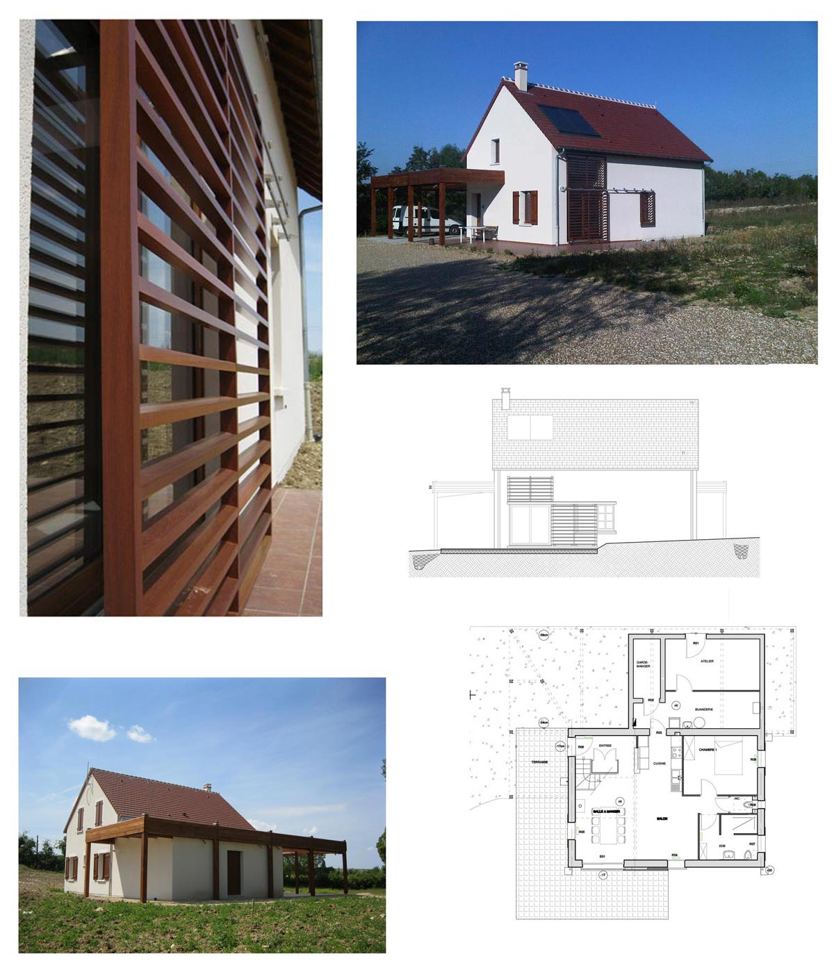 Construction d'une maison individuelle à Saint Père 58
