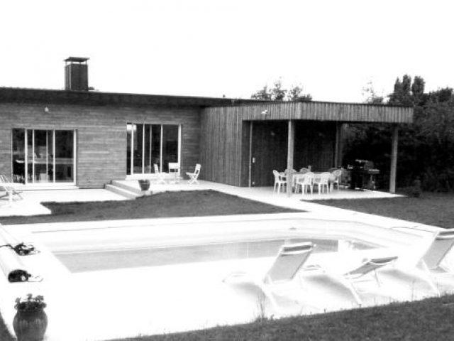 Création d'une habitation à Thauvenay