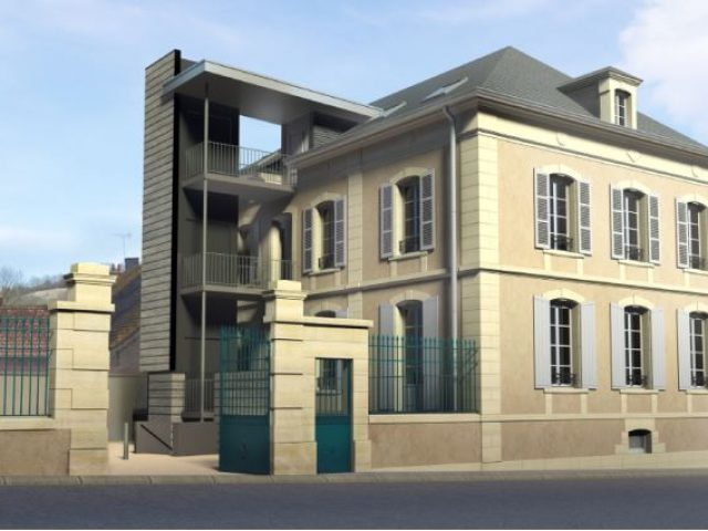 Rénovation de la maison du notaire à Brinon sur Beuvron