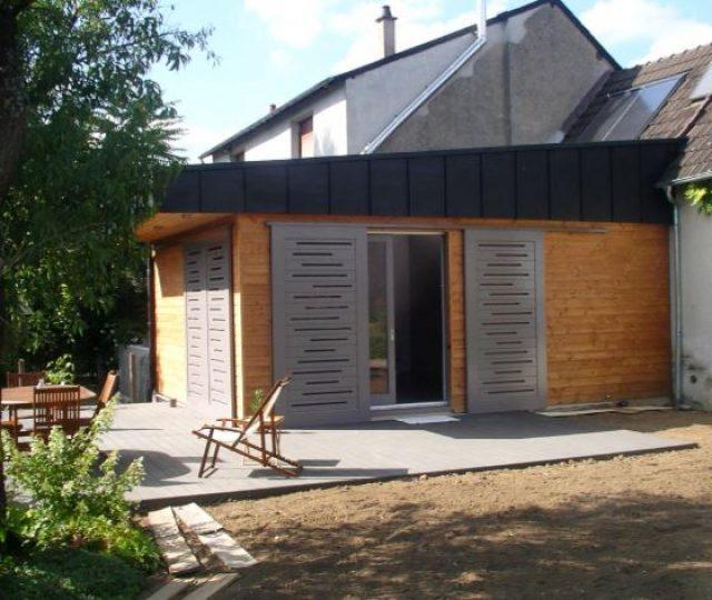 Création d'une extension à Pouilly sur Loire