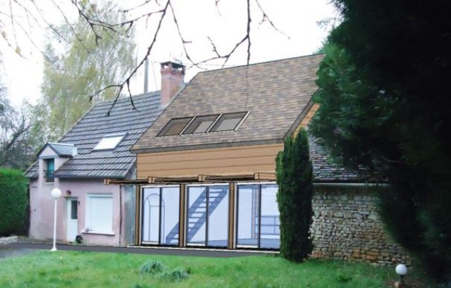 Réhabilitation d'une habitation à Saint-Quentin sur Nohain